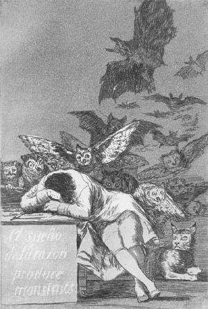 Ο ύπνος της λογικής γεννά τέρατα